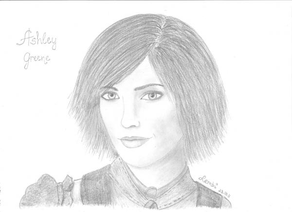 Ashley Greene by -lembi-